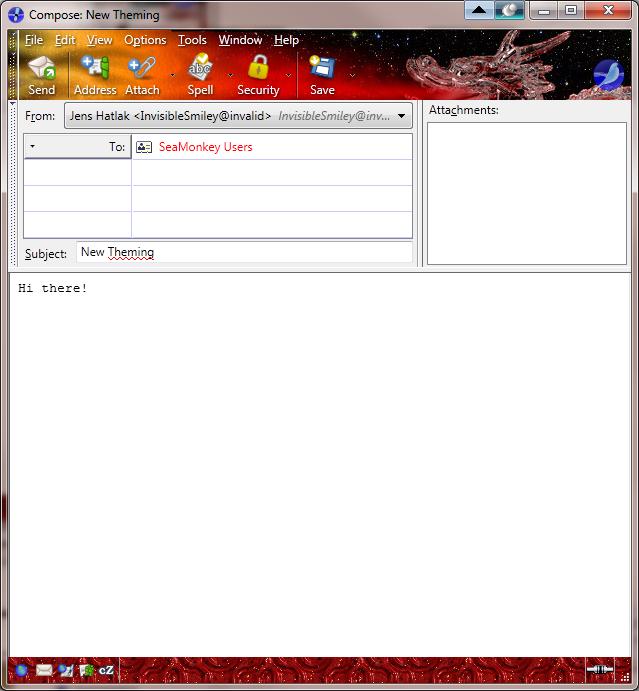 SeaMonkey Screenshots